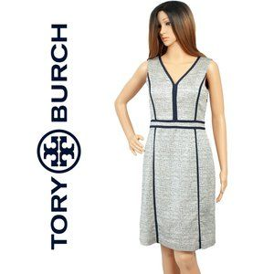 Tory Burch Daron Sleeveless Sheath Dress Size 4
